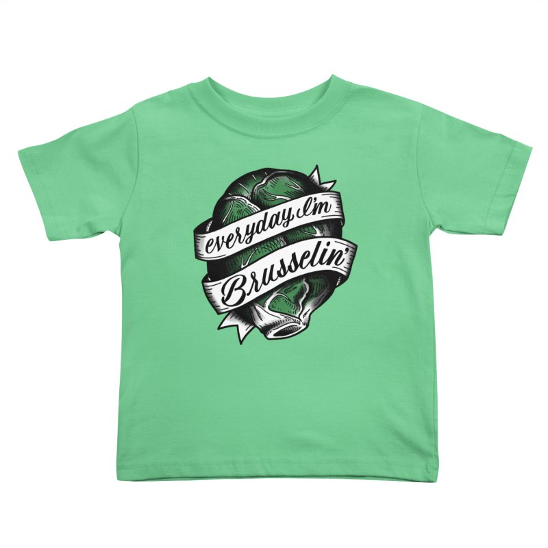 Brusselin Kids Toddler T-Shirt by jenmussari's Artist Shop