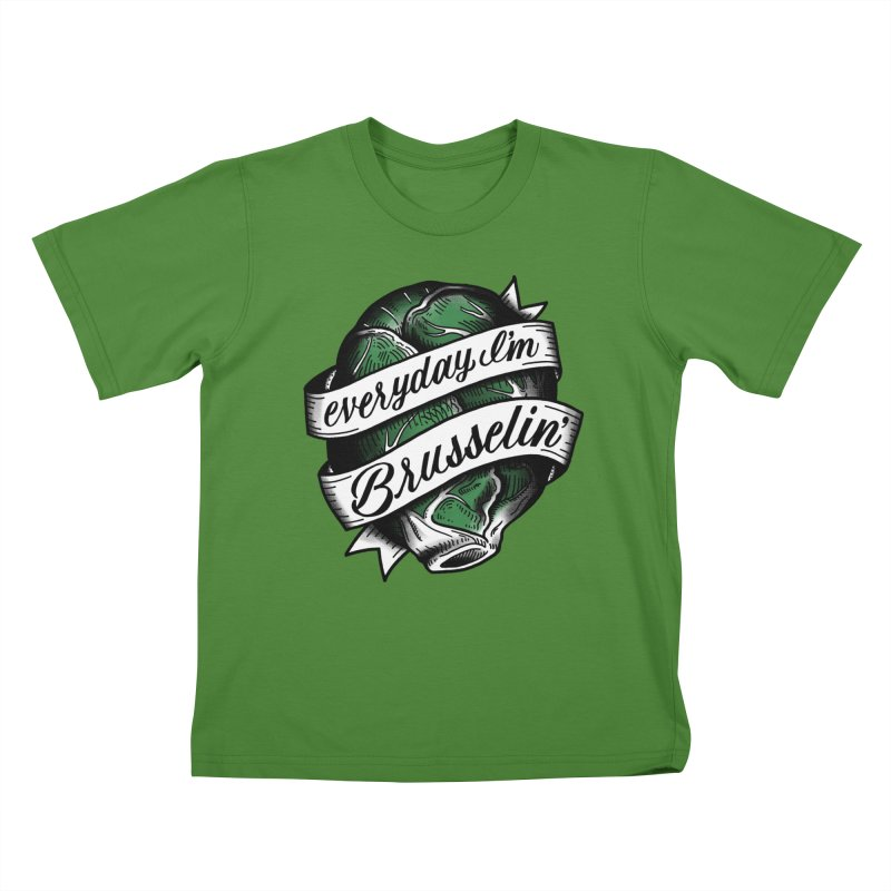 Brusselin Kids T-shirt by jenmussari's Artist Shop