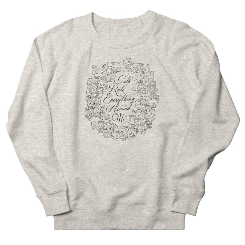 CREAM Women's Sweatshirt by jenmussari's Artist Shop