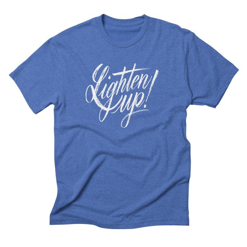 Lighten Up Men's Triblend T-Shirt by jenmussari's Artist Shop