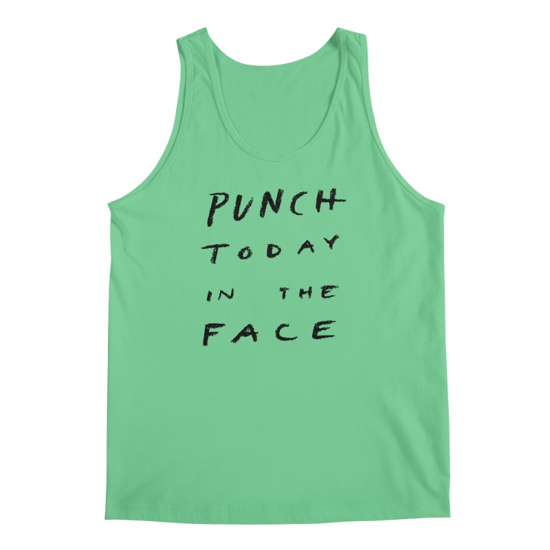 Punch Men's Tank by jenmussari's Artist Shop
