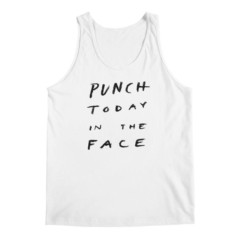 Punch Men's Tank by jenmussari's Artist Shop