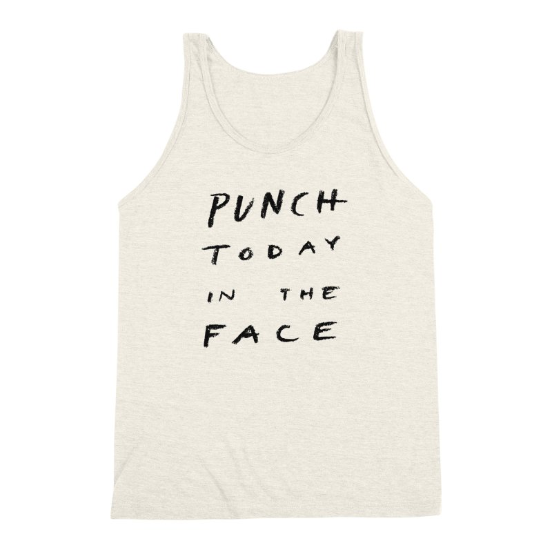 Punch Men's Triblend Tank by jenmussari's Artist Shop