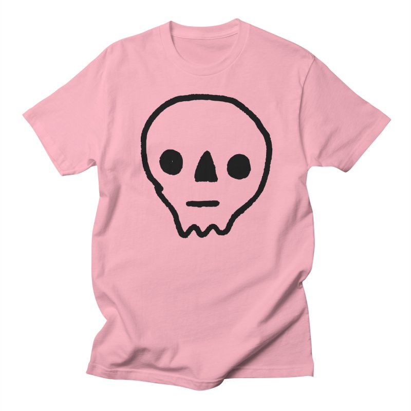 Skull Men's T-Shirt by jenmussari's Artist Shop