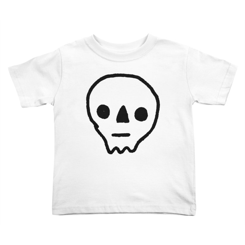 Skull Kids Toddler T-Shirt by jenmussari's Artist Shop