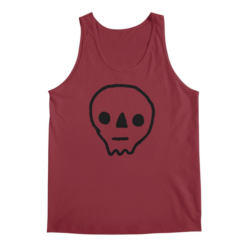Skull Men's Tank by jenmussari's Artist Shop