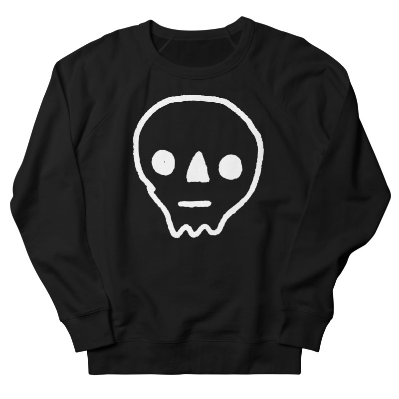 Skull Men's Sweatshirt by jenmussari's Artist Shop