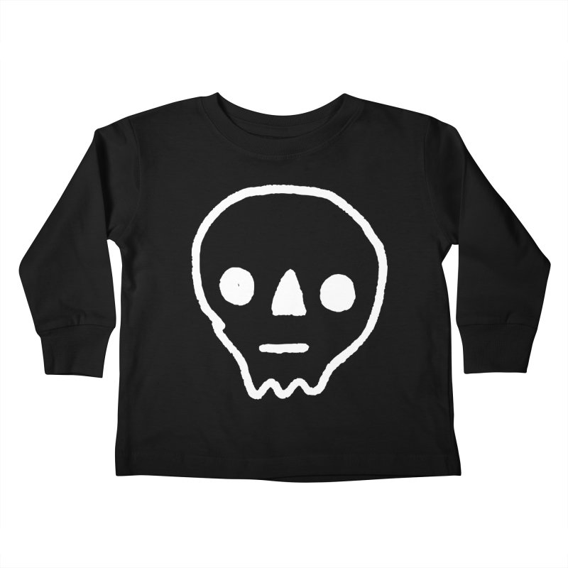 Skull Kids Toddler Longsleeve T-Shirt by jenmussari's Artist Shop