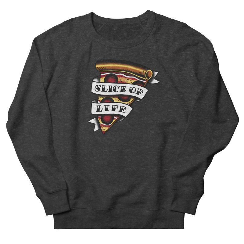 Slice of Life Men's Sweatshirt by jenmussari's Artist Shop
