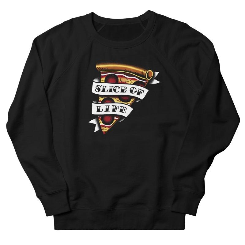 Slice of Life Men's Sweatshirt by jenmussari's Artist Shop