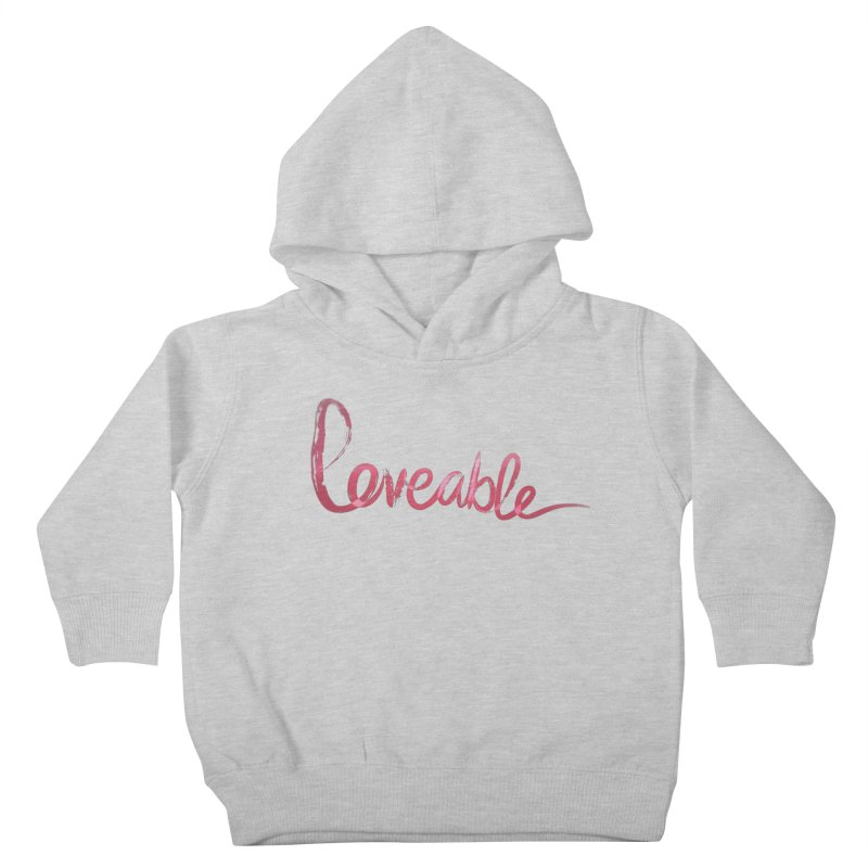 Loveable Kids Toddler Pullover Hoody by Jenna YoNa Bloom's Artist Shop
