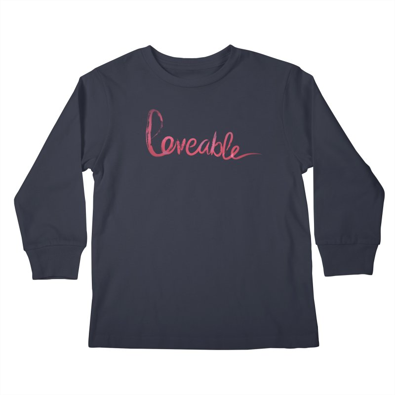 Loveable Kids Longsleeve T-Shirt by Jenna YoNa Bloom's Artist Shop