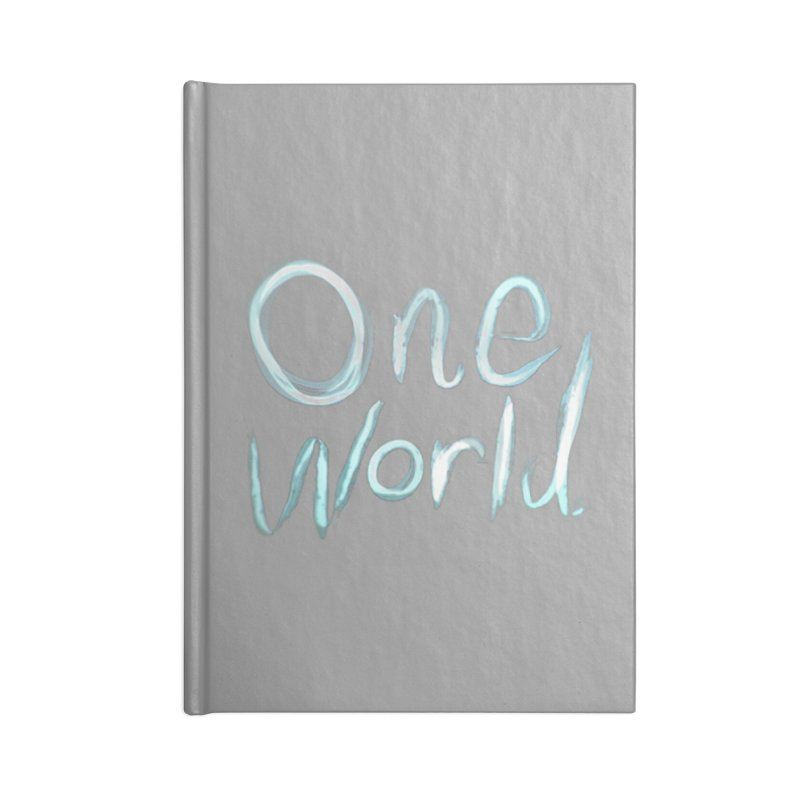 One World Accessories Notebook by Jenna YoNa Bloom's Artist Shop