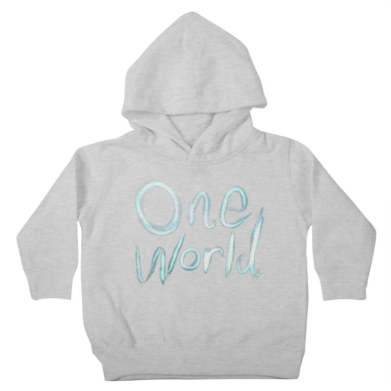 One World Kids Toddler Pullover Hoody by Jenna YoNa Bloom's Artist Shop