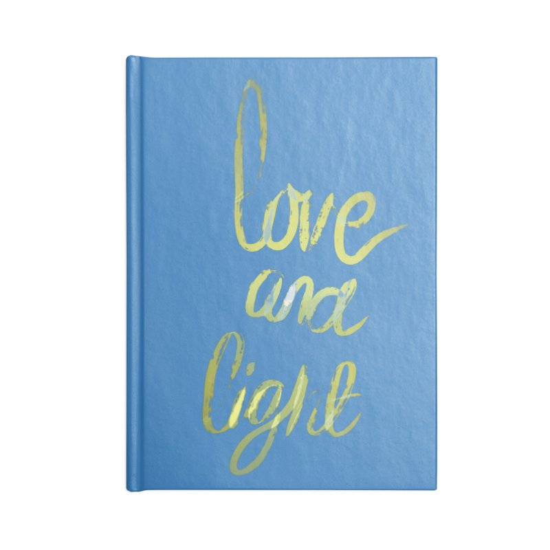 love and light Accessories Notebook by Jenna YoNa Bloom's Artist Shop