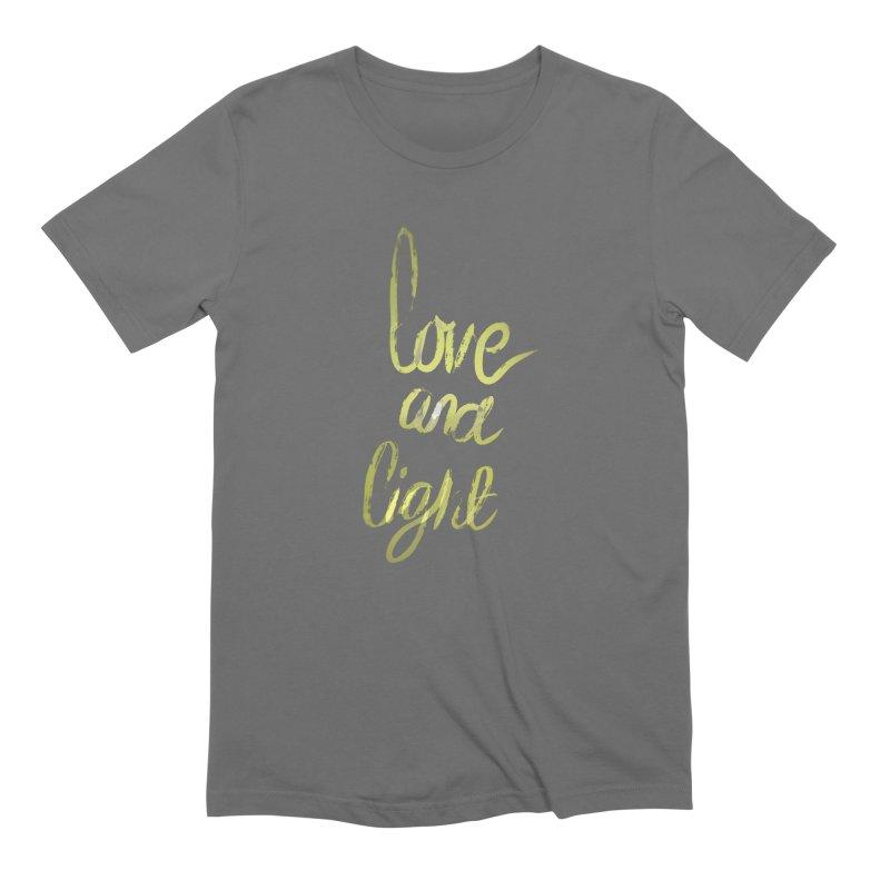 love and light Men's T-Shirt by Jenna YoNa Bloom's Artist Shop