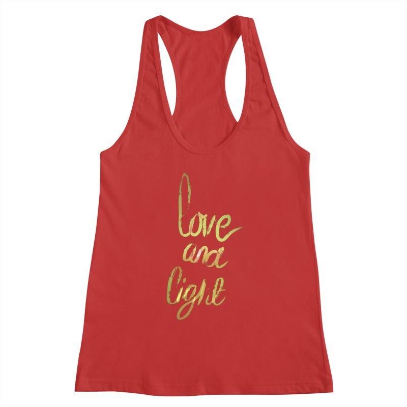 love and light Women's Tank by Jenna YoNa Bloom's Artist Shop