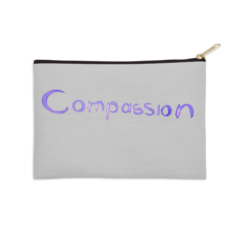 compassion Accessories Zip Pouch by Jenna YoNa Bloom's Artist Shop