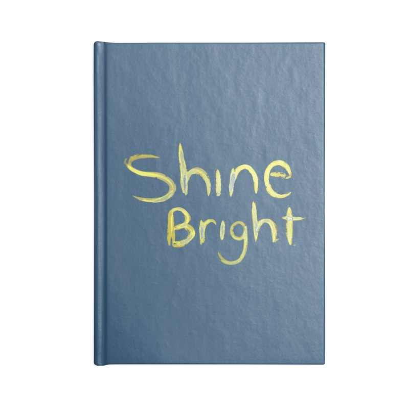 Shine bright Accessories Notebook by Jenna YoNa Bloom's Artist Shop