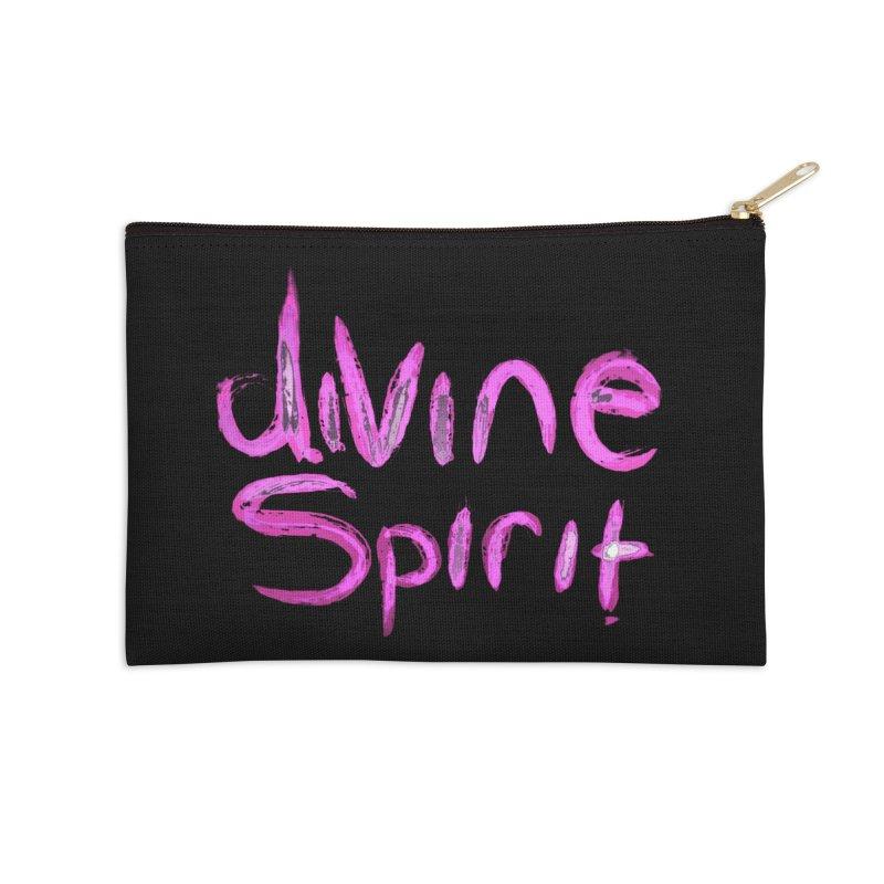 Divine Spirit Accessories Zip Pouch by Jenna YoNa Bloom's Artist Shop