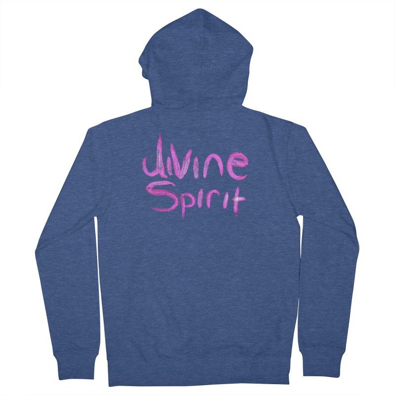 Divine Spirit Men's Zip-Up Hoody by Jenna YoNa Bloom's Artist Shop