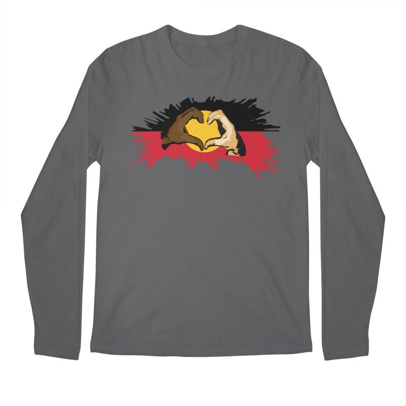 Love and solidarity Men's Longsleeve T-Shirt by Jenna YoNa Bloom's Artist Shop