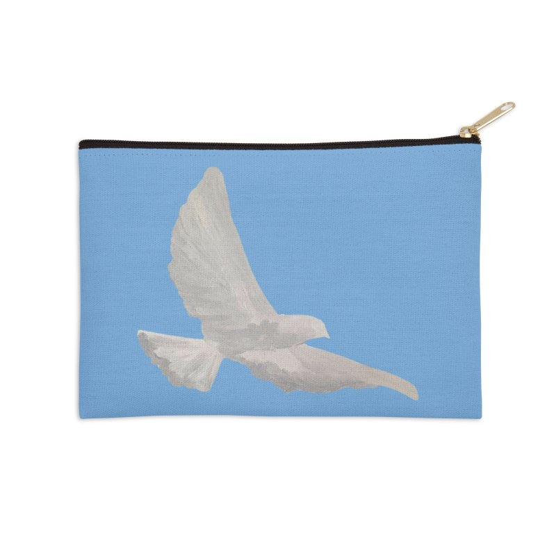 Dove of peace Accessories Zip Pouch by Jenna YoNa Bloom's Artist Shop