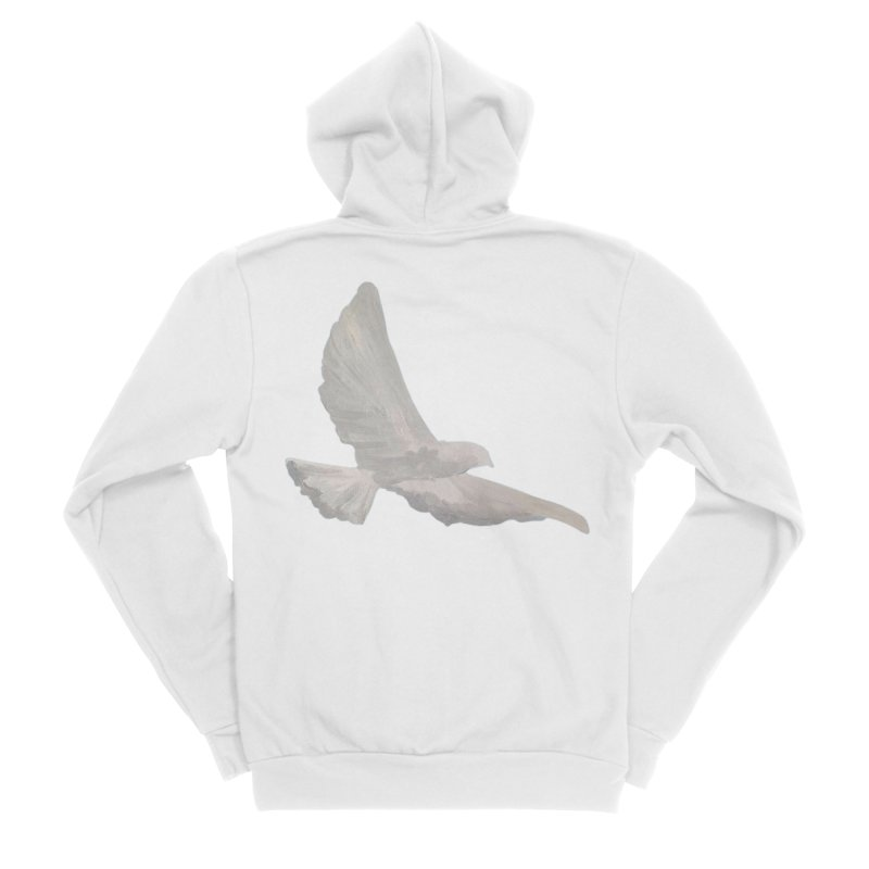 Dove of peace Women's Zip-Up Hoody by Jenna YoNa Bloom's Artist Shop