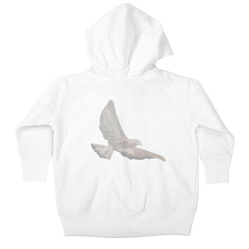 Dove of peace Kids Baby Zip-Up Hoody by Jenna YoNa Bloom's Artist Shop