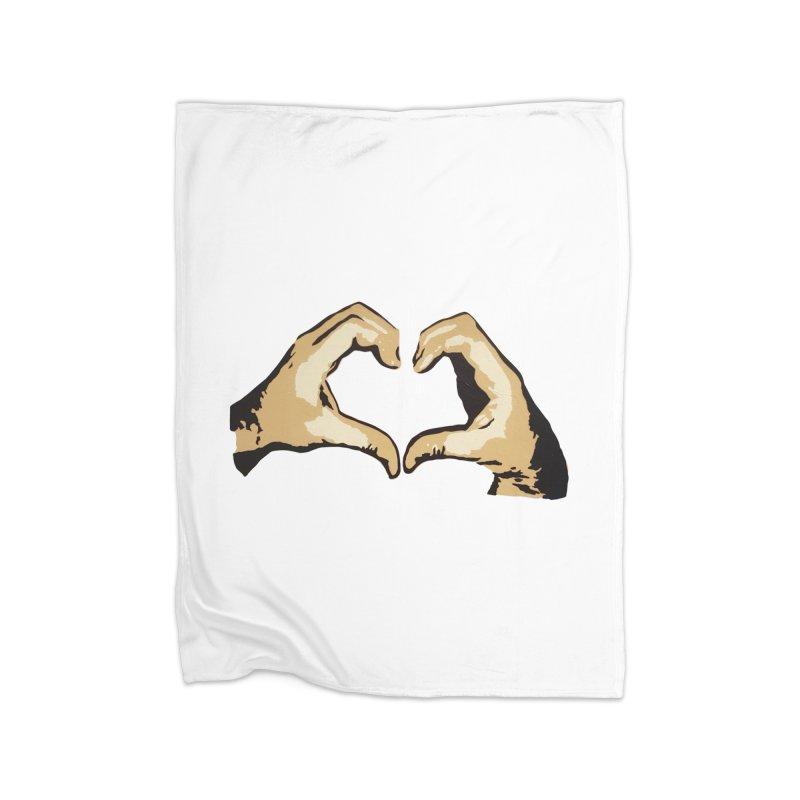 Spread love Home Blanket by Jenna YoNa Bloom's Artist Shop