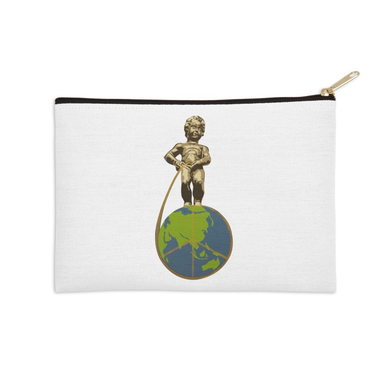 Peeace be upon you Accessories Zip Pouch by Jenna YoNa Bloom's Artist Shop