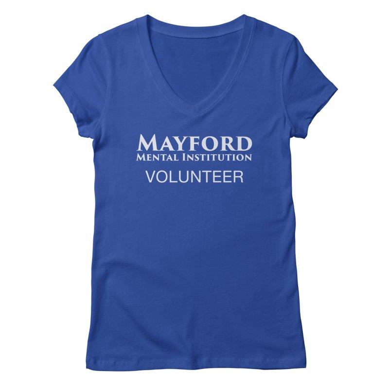 Mayford Volunteer Tee Women's Regular V-Neck by Jenn Hype