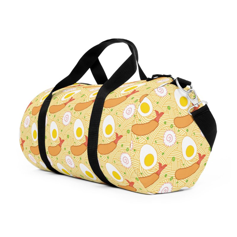 Endless Ramen Accessories Duffel Bag Bag by Jenni Does Art