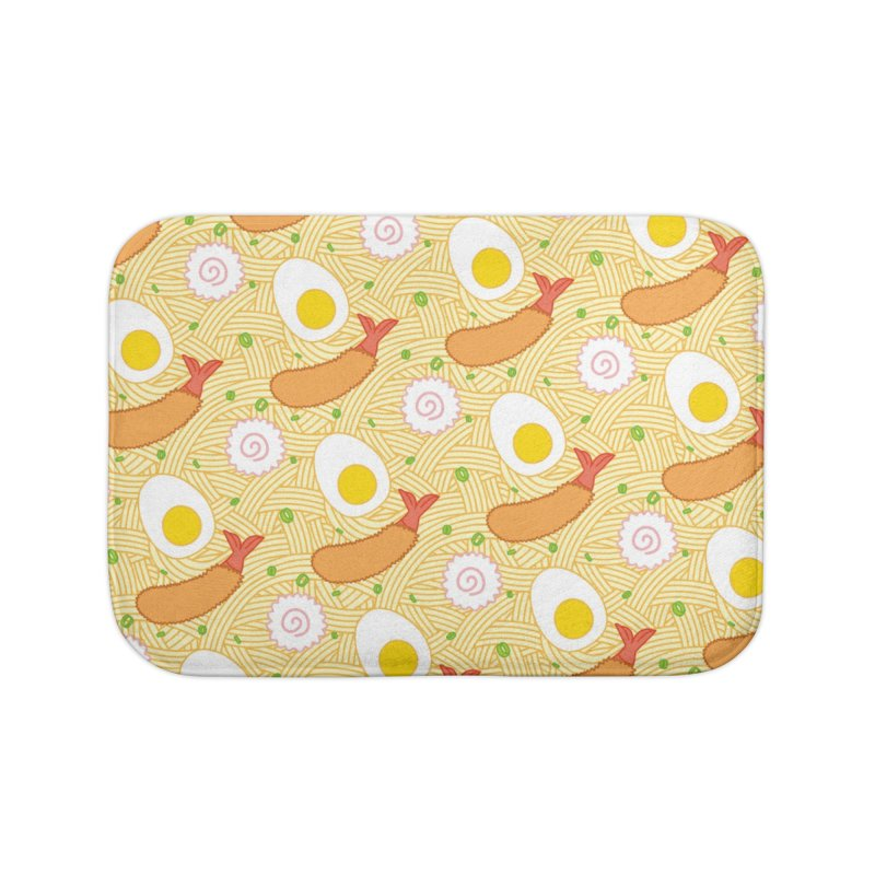 Endless Ramen Home Bath Mat by Jenni Does Art
