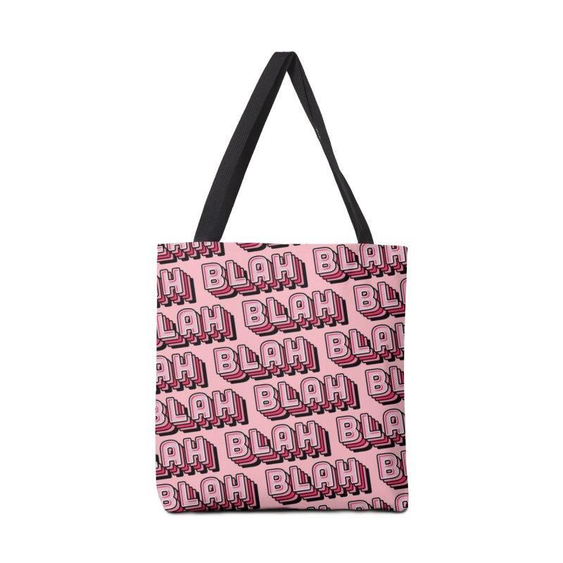 Blah Blah Blah Accessories Tote Bag Bag by Jenni Does Art
