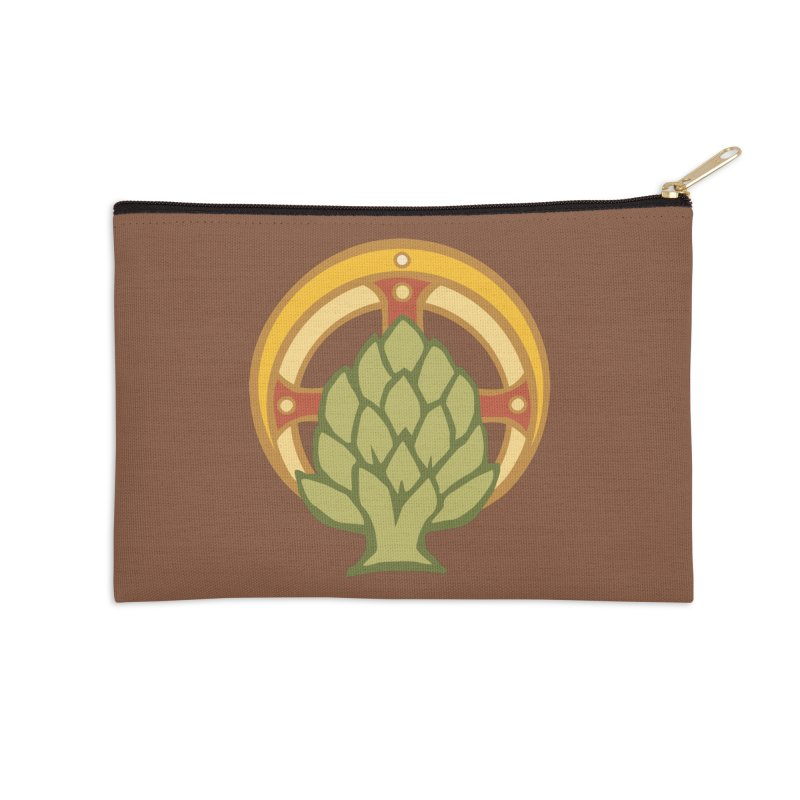 Holy Artichoke in Zip Pouch by Supersticery Shop