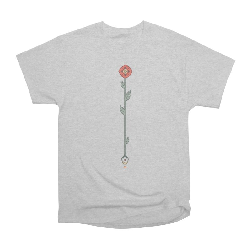 Celestial Poppy Women's Heavyweight Unisex T-Shirt by Supersticery Shop