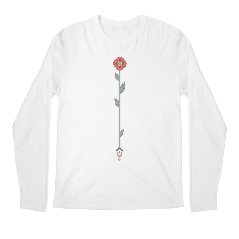 Celestial Poppy Men's Regular Longsleeve T-Shirt by Supersticery Shop