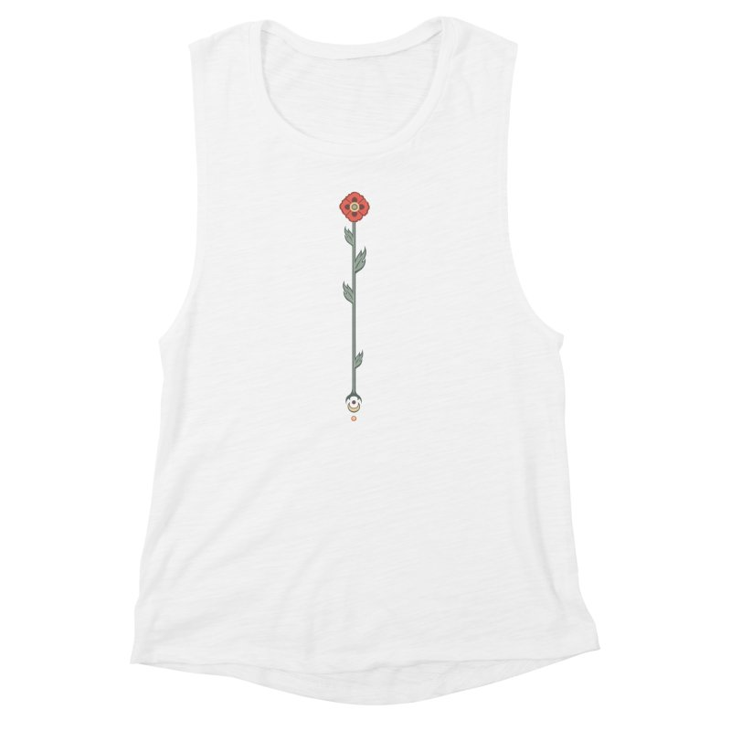 Celestial Poppy Women's Muscle Tank by Supersticery Shop