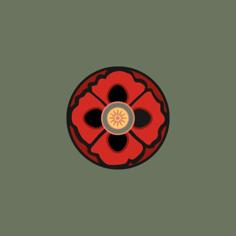Iconic Poppy by Supersticery Shop