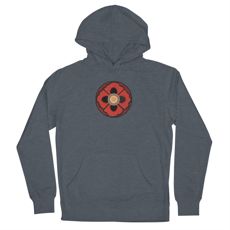 Iconic Poppy Women's French Terry Pullover Hoody by Supersticery Shop