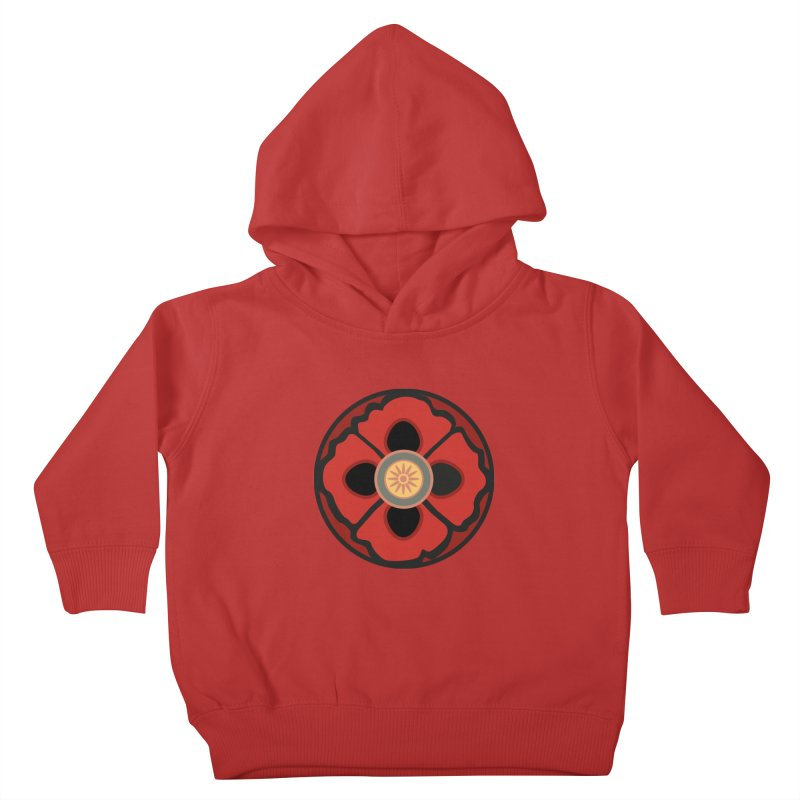 Iconic Poppy Kids Toddler Pullover Hoody by Supersticery Shop
