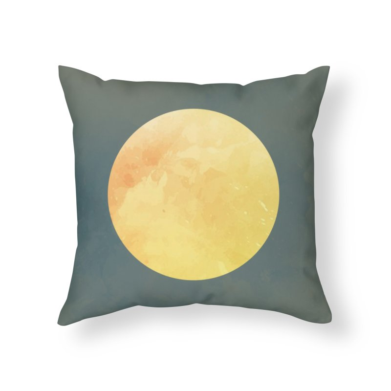 Orb Home Throw Pillow by Supersticery Shop