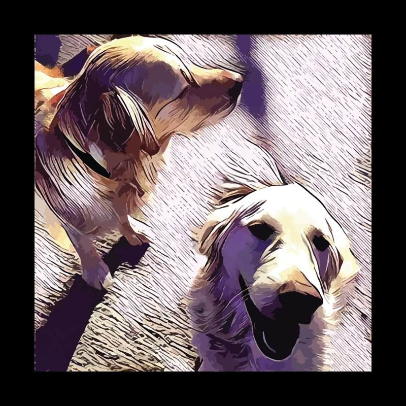 two goldens by jennypivor's Artist Shop