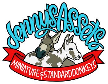 Jenny's Assets Miniature and Standard Donkeys Logo
