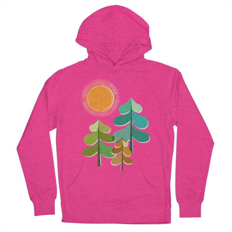 Golden Days Women's French Terry Pullover Hoody by Jenny Tiffany's Artist Shop