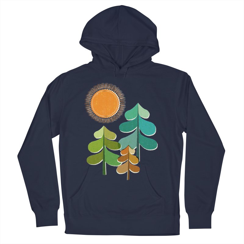 Golden Days Men's Pullover Hoody by Jenny Tiffany's Artist Shop
