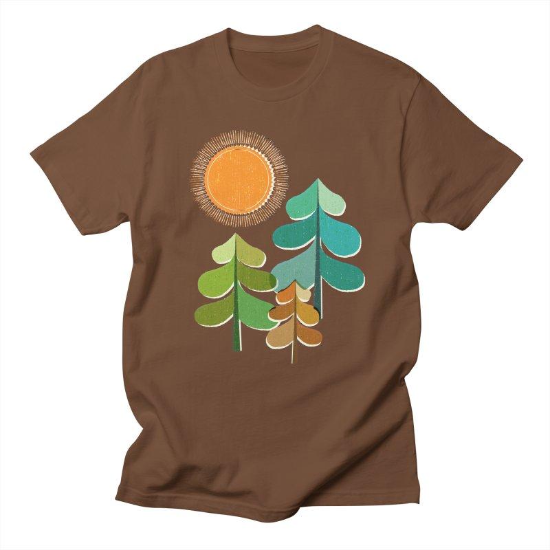 Golden Days Men's Regular T-Shirt by Jenny Tiffany's Artist Shop