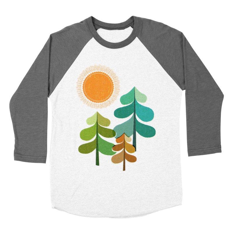 Golden Days Women's Baseball Triblend Longsleeve T-Shirt by Jenny Tiffany's Artist Shop