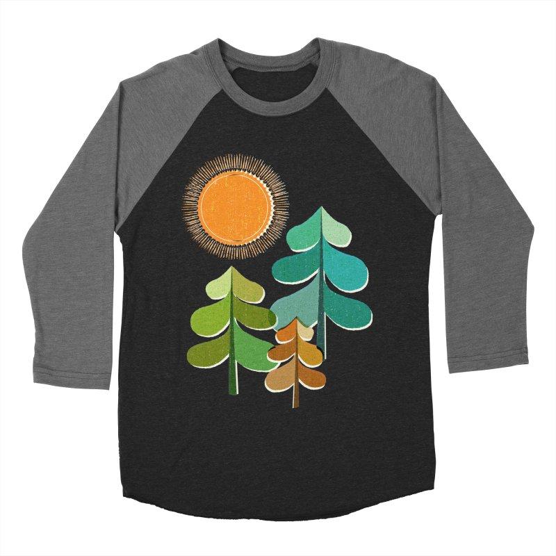 Golden Days Women's Baseball Triblend T-Shirt by Jenny Tiffany's Artist Shop